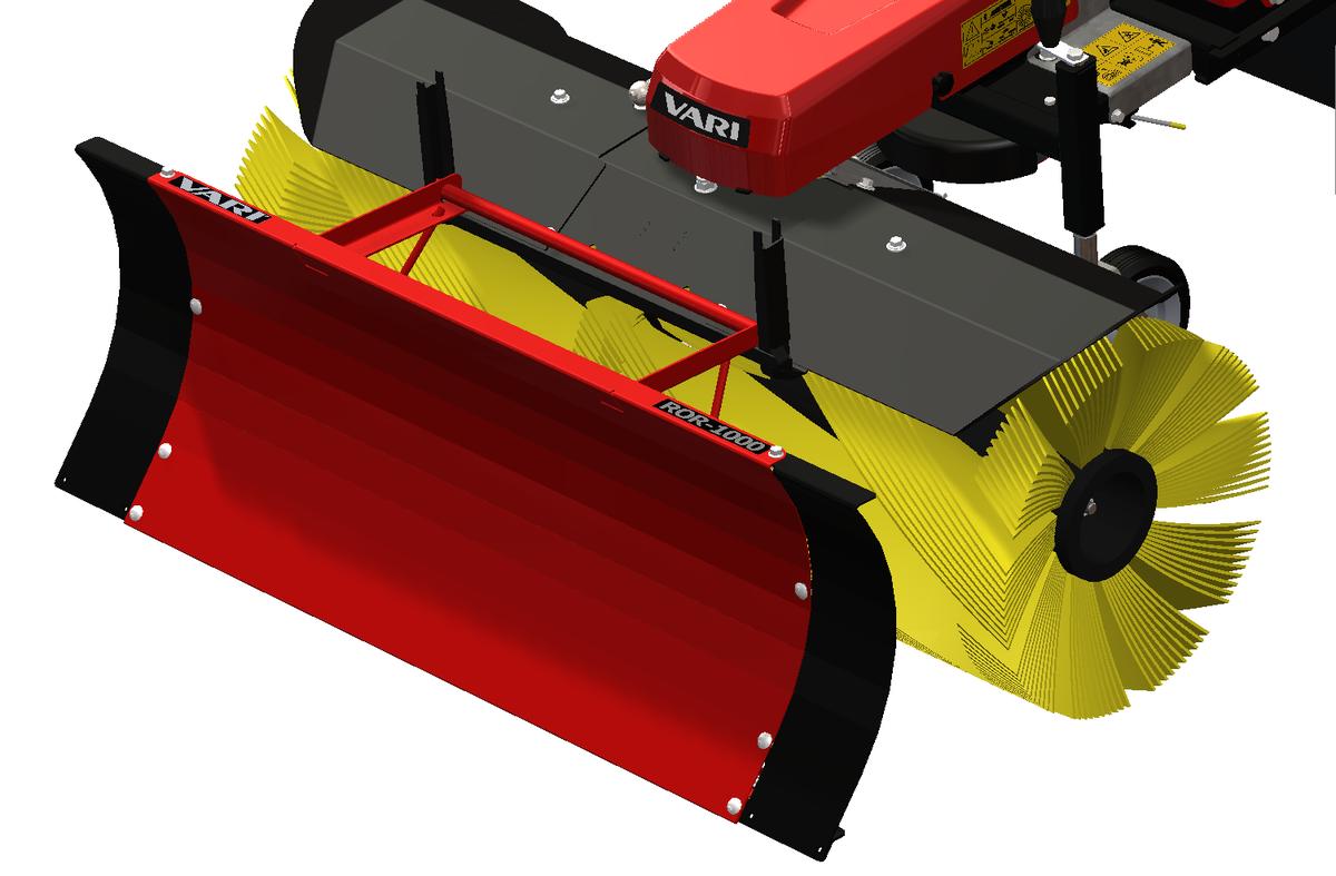 Odhrnovací radlice ROR-1000 Vari